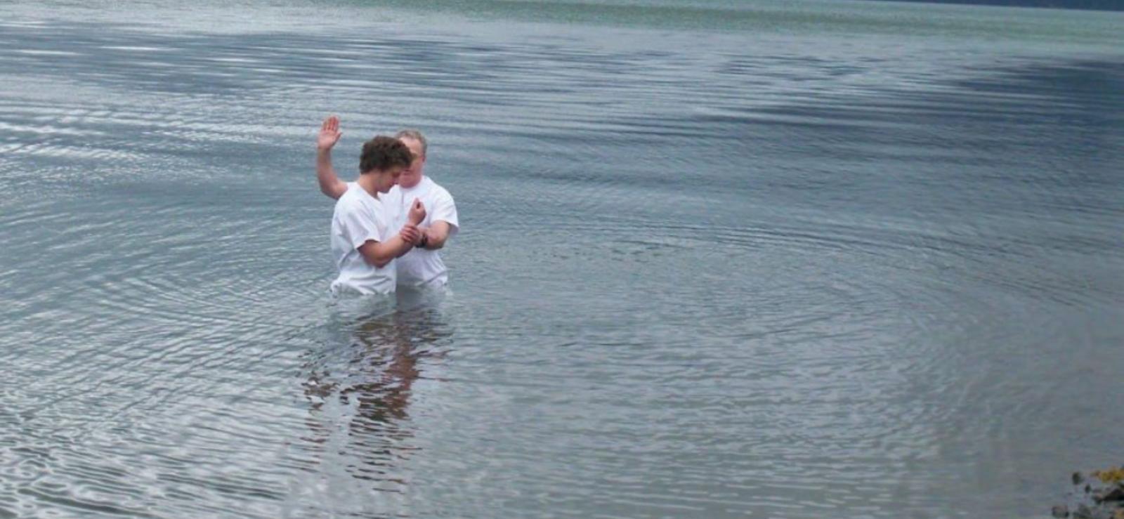 battesimo in acqua